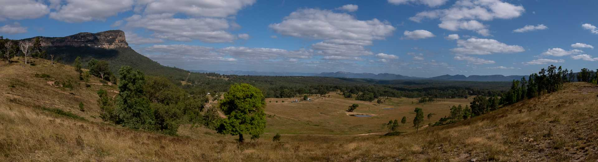 Panorama of the escarpment