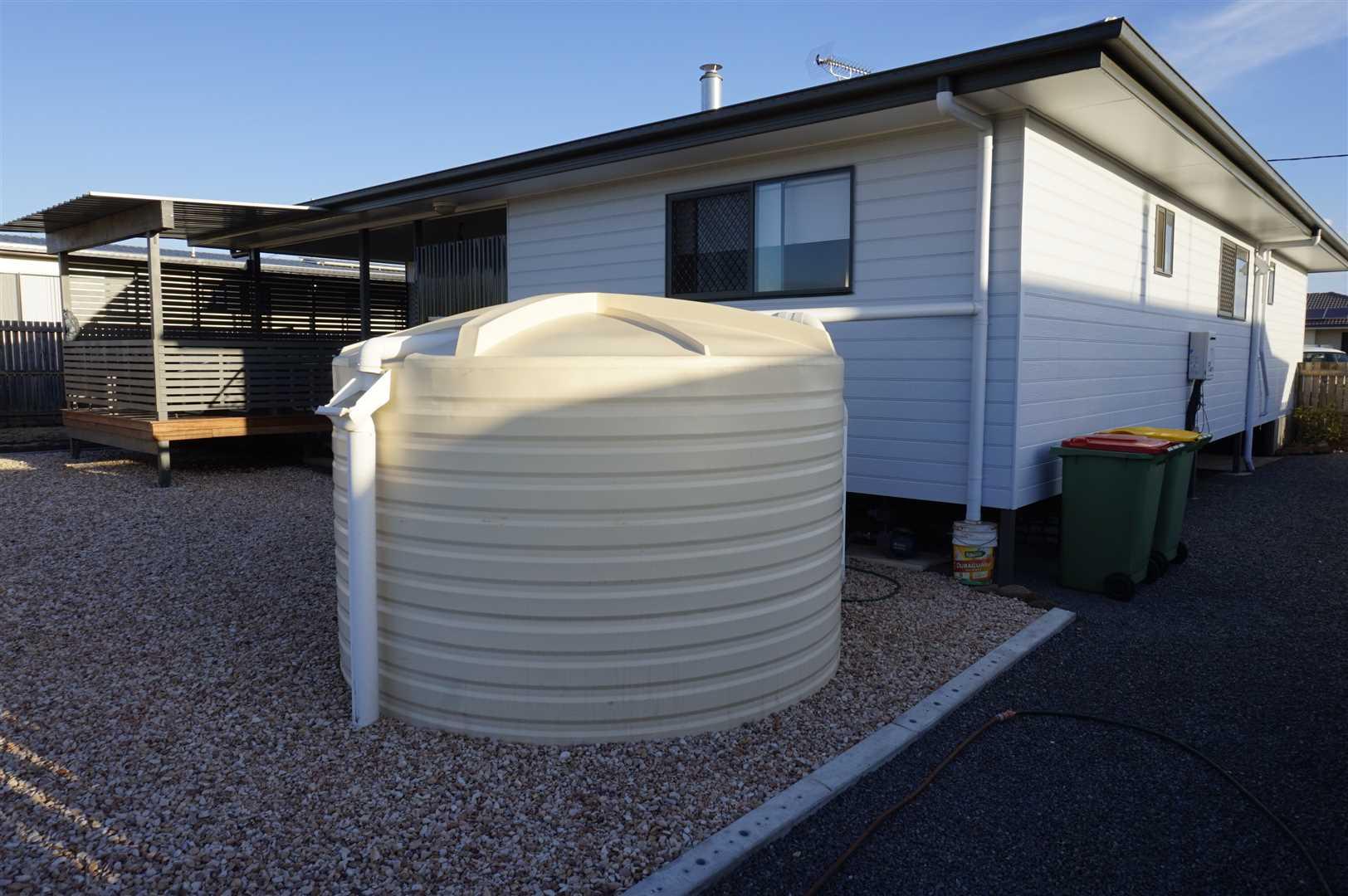 10000 litre Rainwater