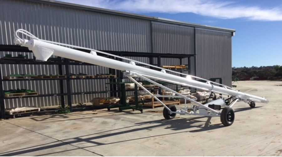 40ft Normoil Auger Hyd drive New Flighting & Tube