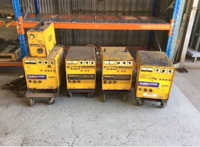 WIA FABRICATOR Welders, Wire Feeders and CIG Arc Welder All in good Working condition, Surplus to needs