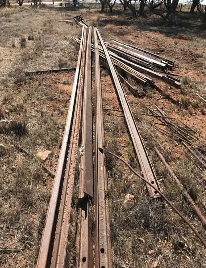Railway Iron Lengths and sizes 4m-15m lengths