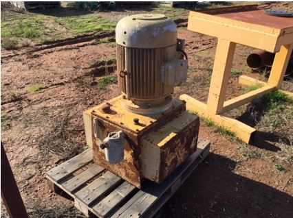 Newman Hyd Power pack. Electric 40hp motor, 30KW 54Amp