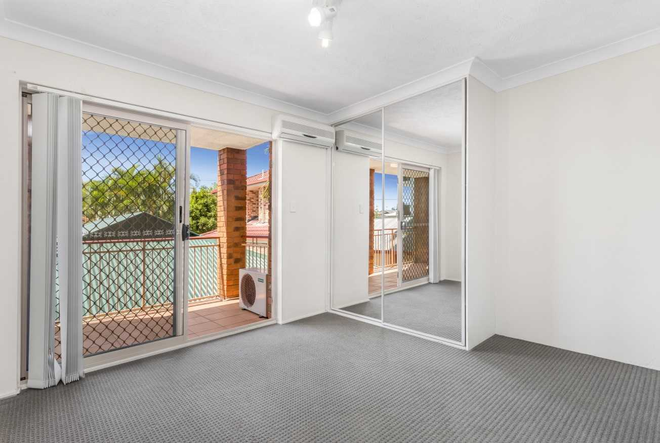 Bed 1 - Builtin Robes - Air-con - Ensuite Bathroom - Opens Onto East Facing Front Balcony
