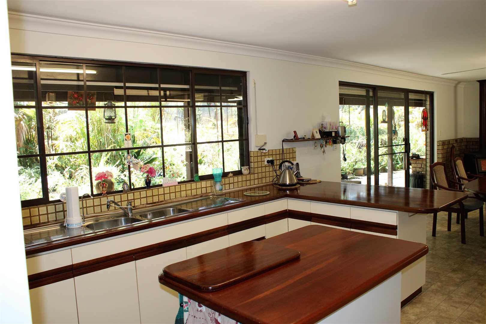 Kitchen- Jarrah bench tops