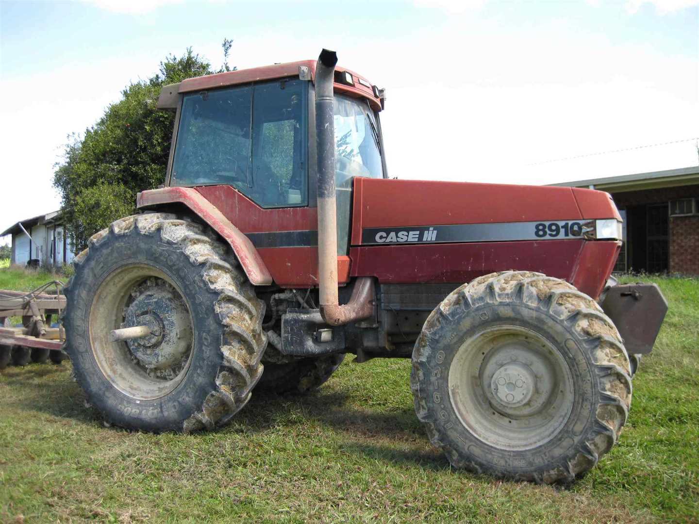 View of part of Tractor, Case Magnum 8910