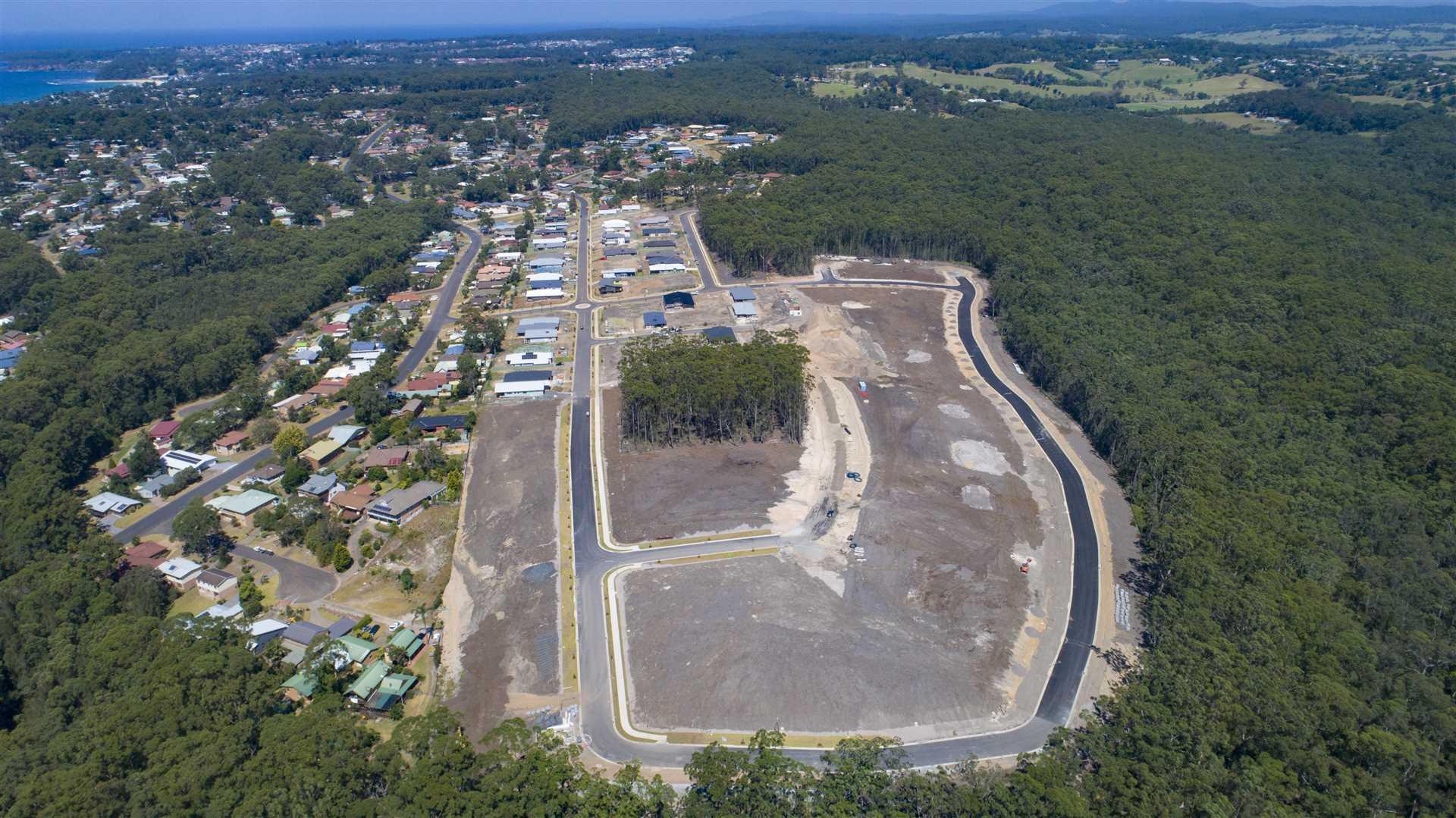 Aerial of Stage 5 Amaroo
