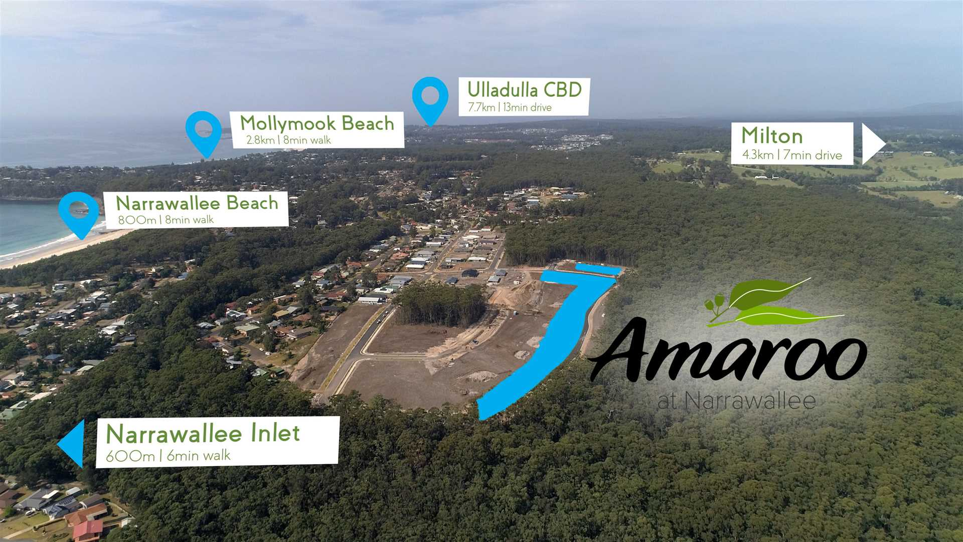Latest Land Release in Narrawallee