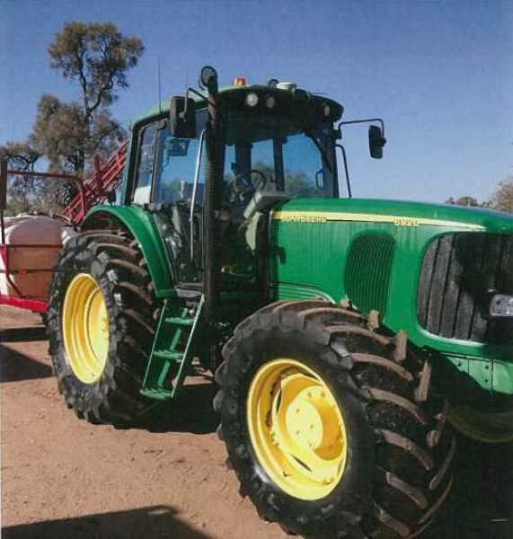 JD6920 tractor, 2004, approx 4,500hrs