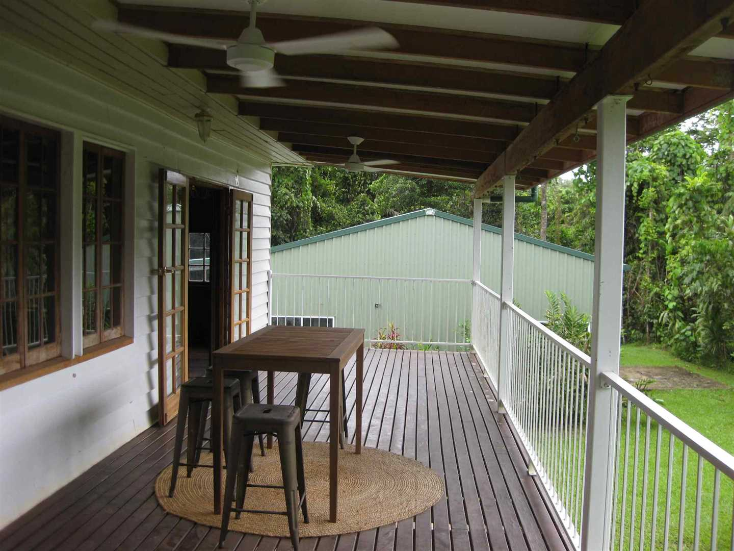 View of part of home verandah, photo 2