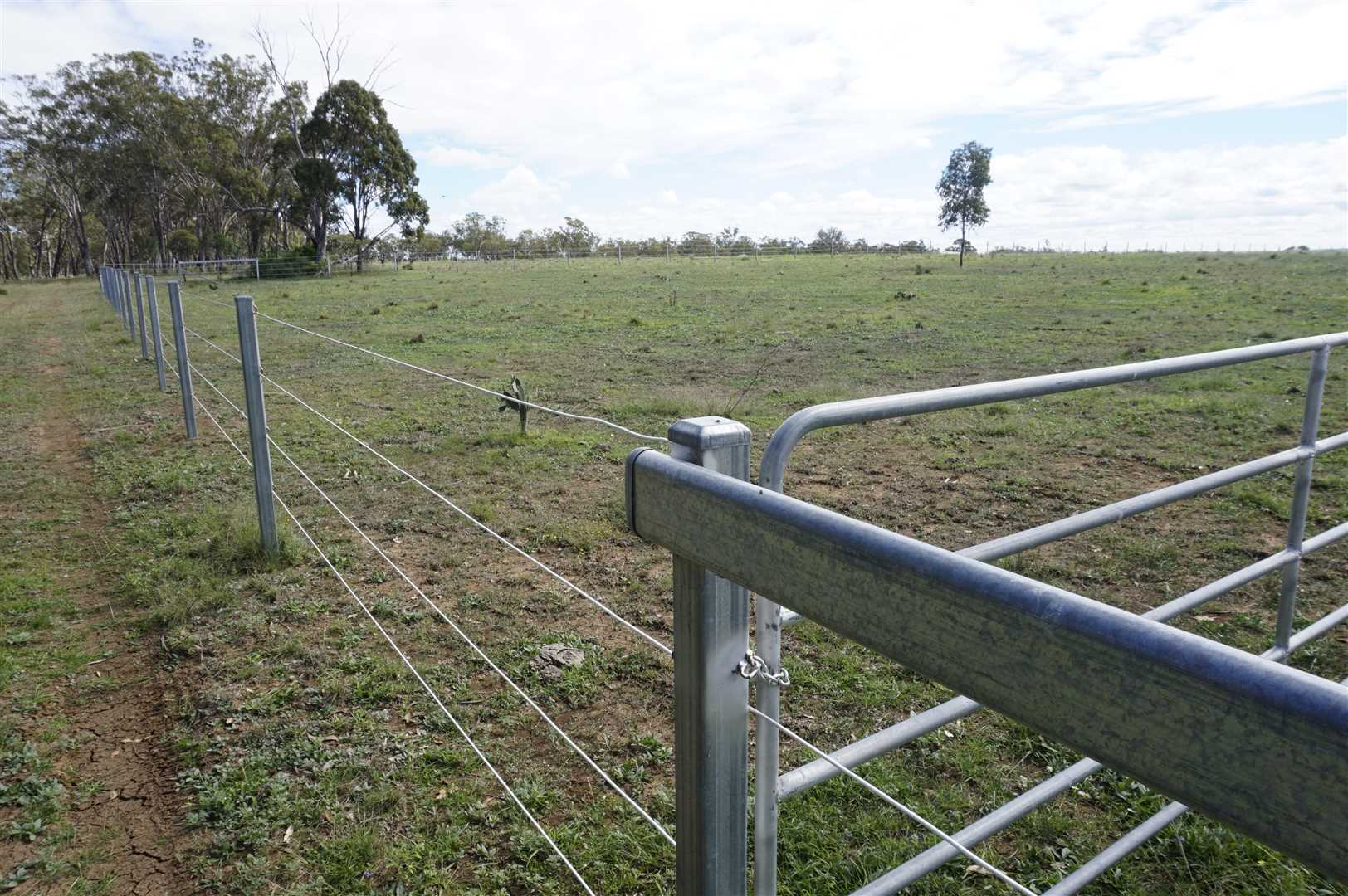 Plain Wire Internal Fencing