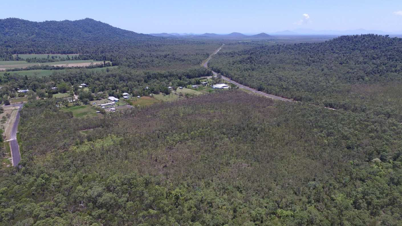 Aerial photo showing part of Lot 29 looking approx. East with access road to Lot 29 shown in the left of the photo