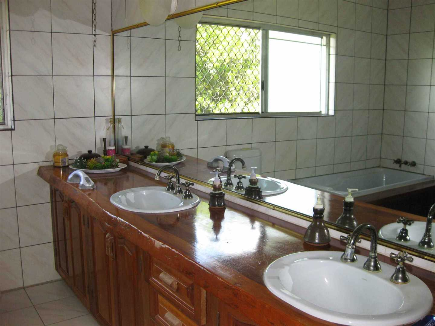 Inside view of part of home showing part of the en-suite bathroom