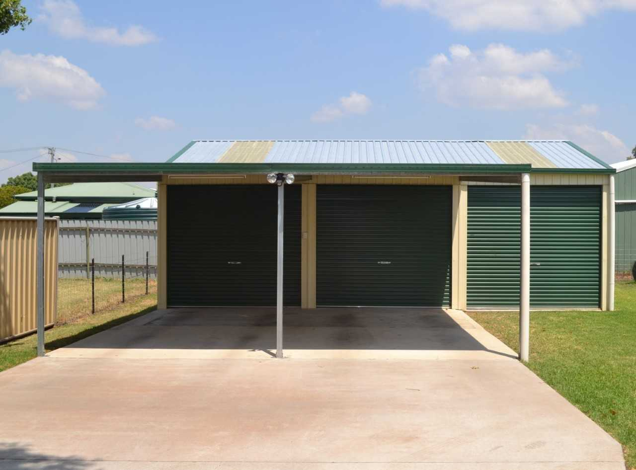 Shed, Carport and Gym