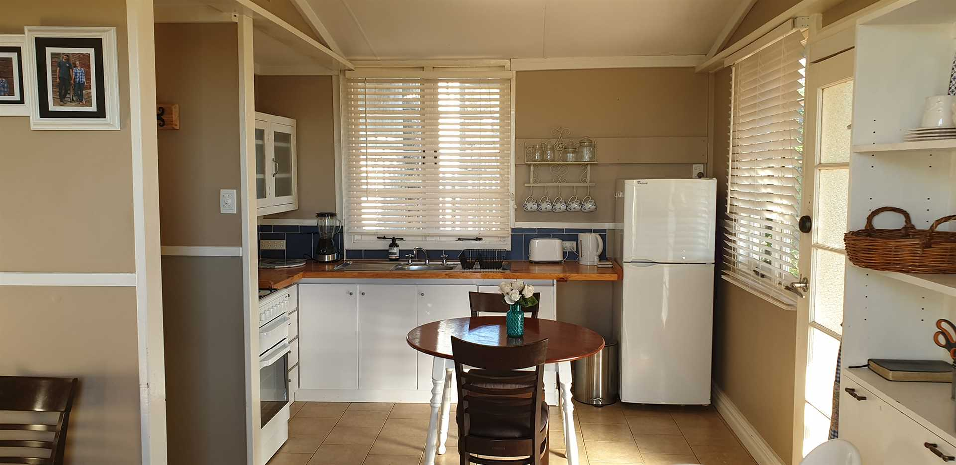 Kitchen in the 3 x 1 bedroom cottage