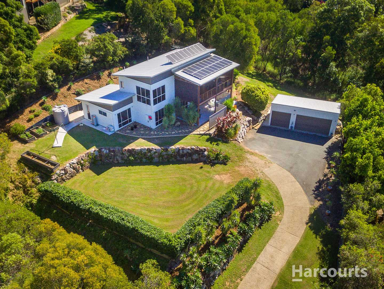 Stunning home with views to Moreton Island