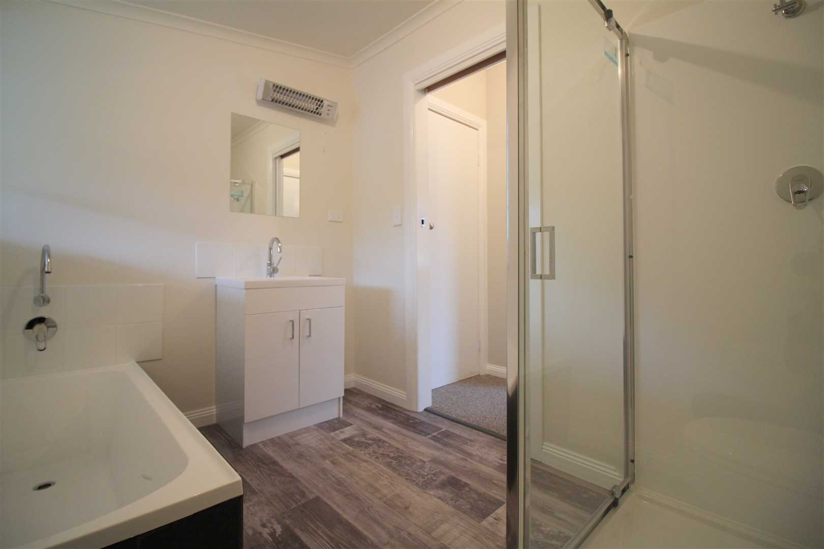 Renovated Bathroom With Bath & Separate Shower