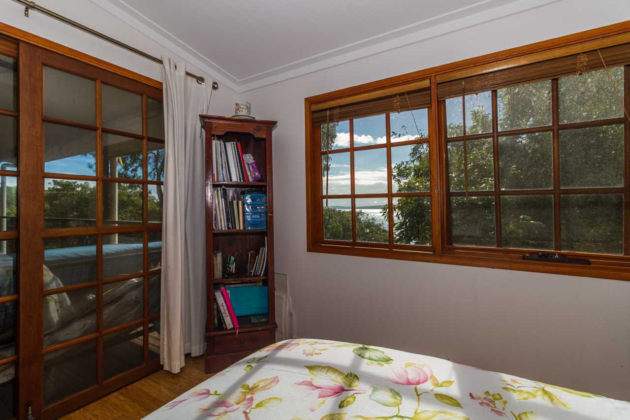 Second bedroom with view
