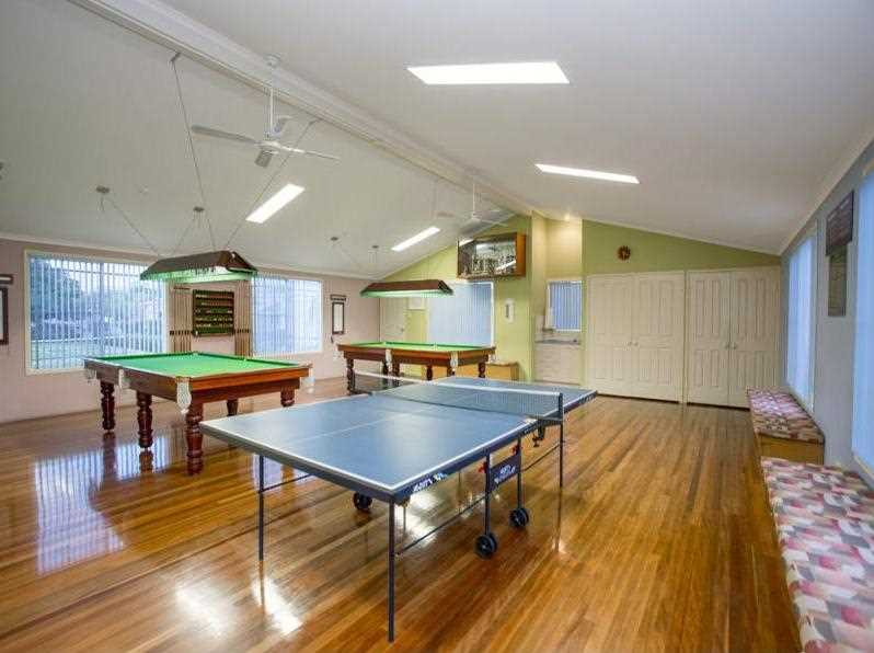 Community Hall - Billiards - Table Tennis - Library