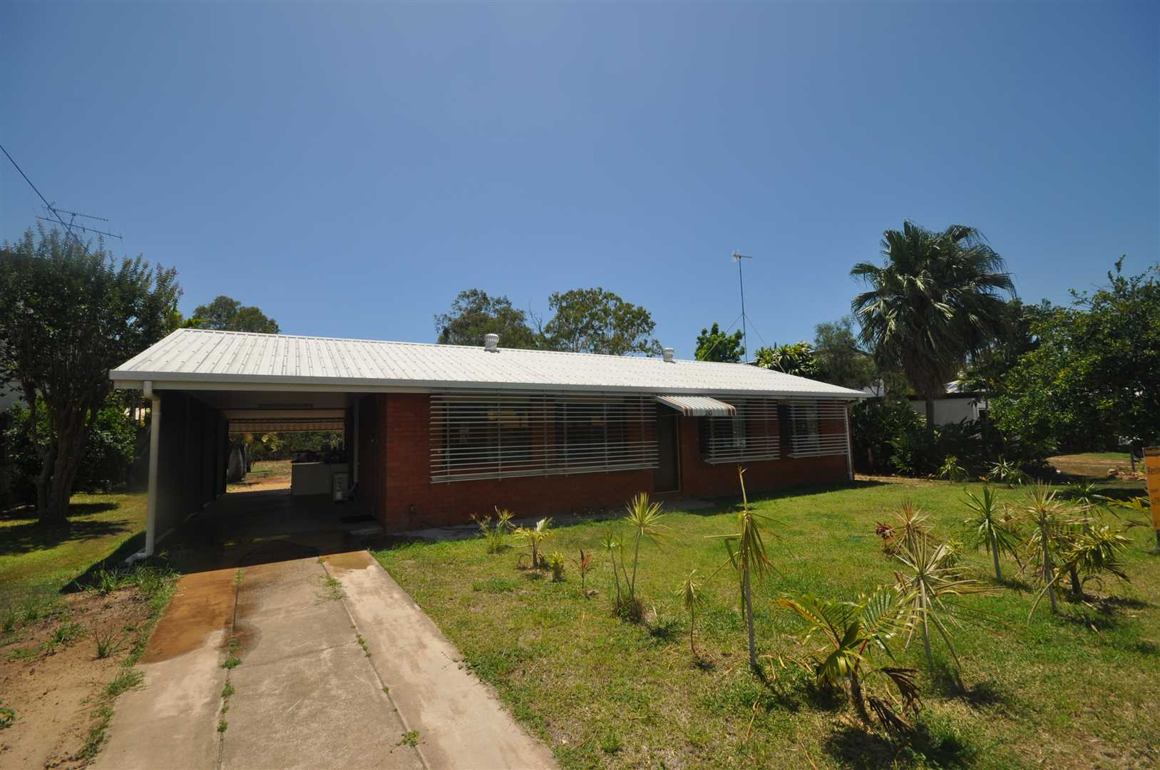 3 bedroom brick home with back patio.  Walking distance to t