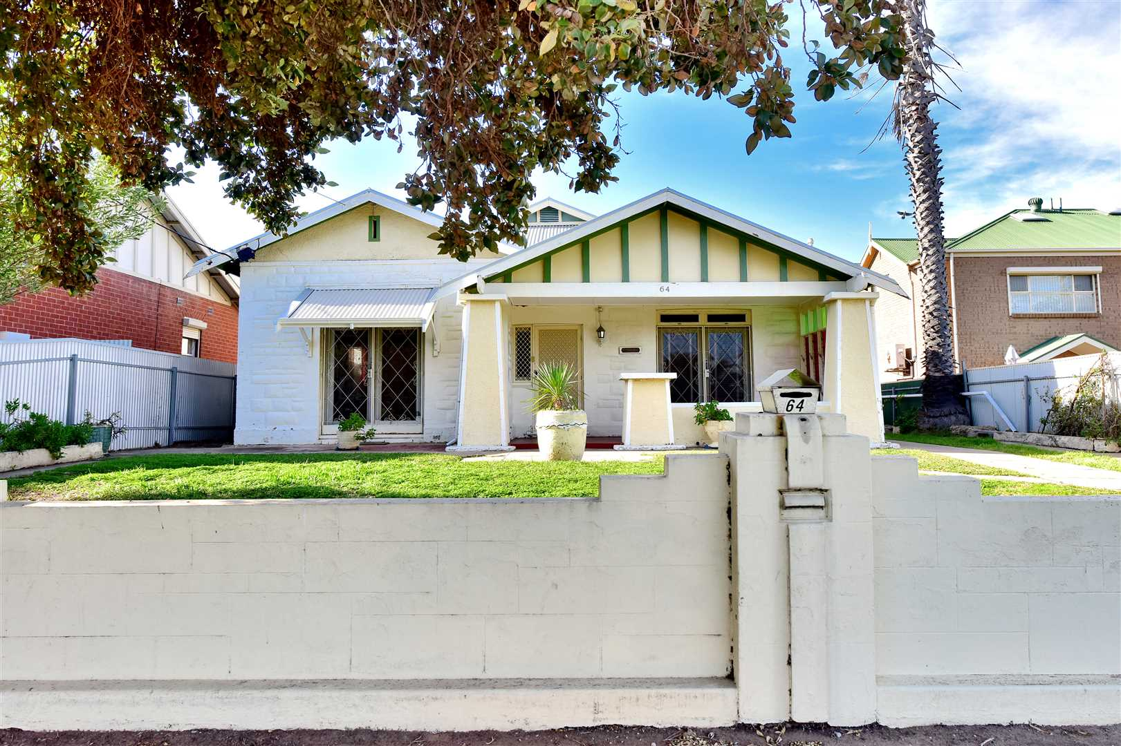 C. 1925 Bungalow on the gateway to Port. Solid beauty ready