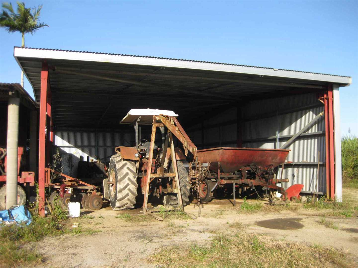 View of part of sheds, photo 1
