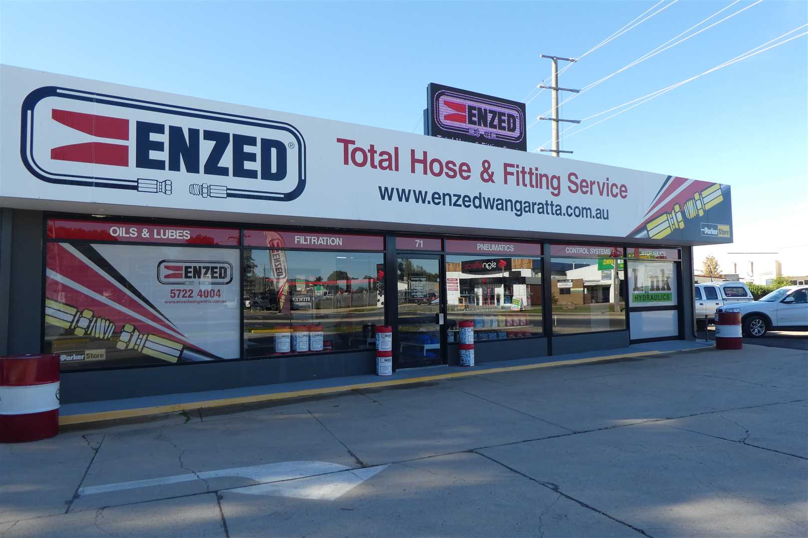 Hydraulic industrial hose fitter and installer franchise
