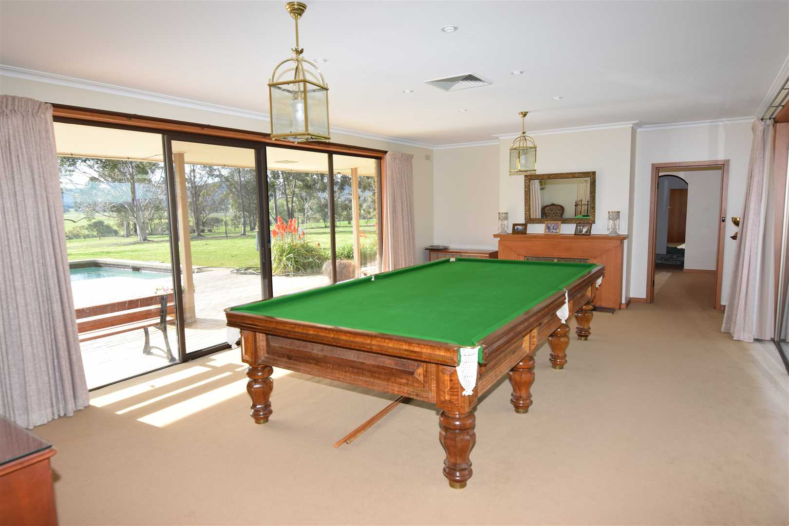 Billiard room to North