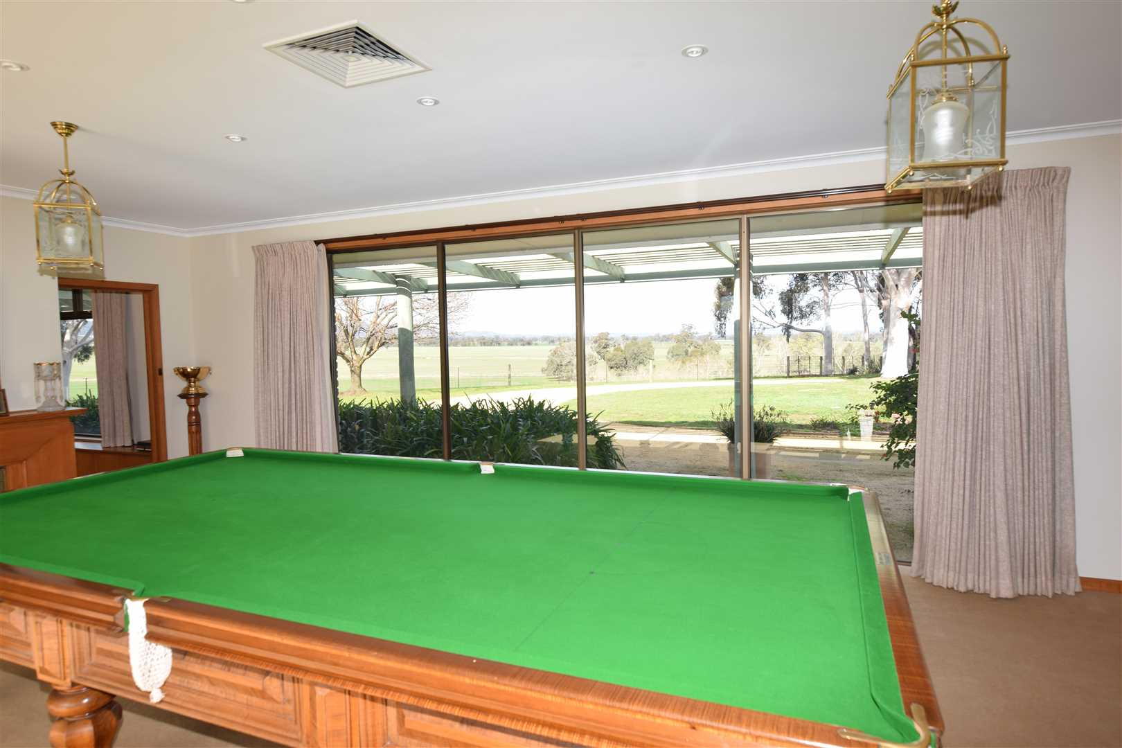 Billiard Room to East