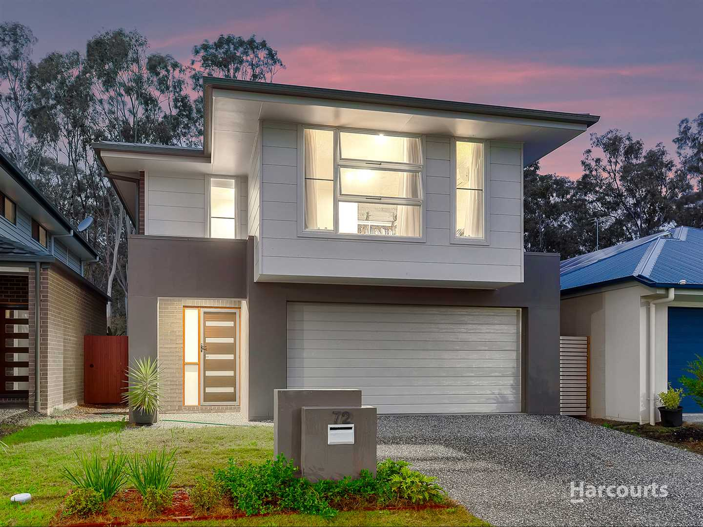 Parkside living with 209m2 under the roof!
