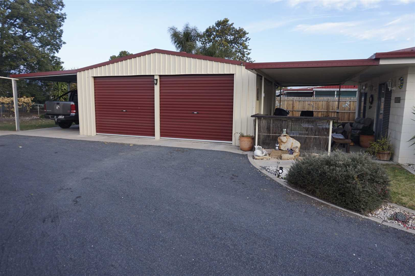 Double Garage and Carport