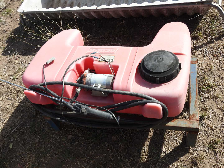 Silvan 12v 4 Wheel Motor bike spray tank