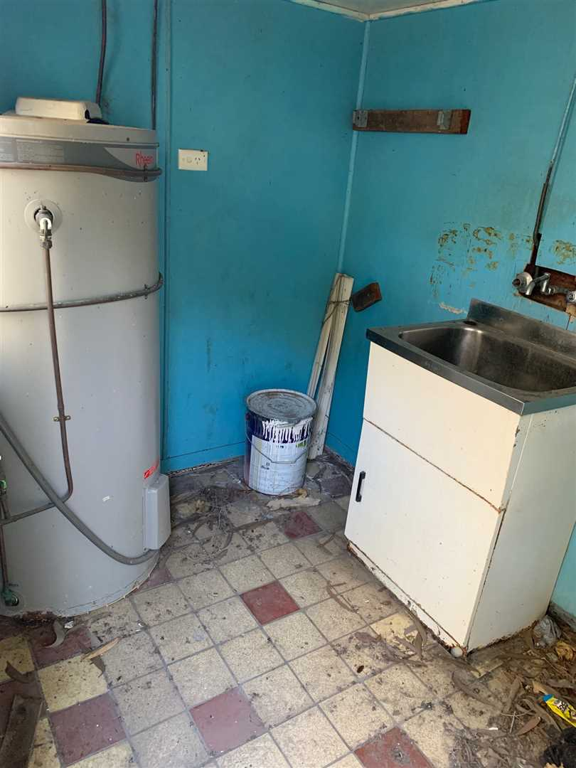 Laundry - Newer Hot Water System