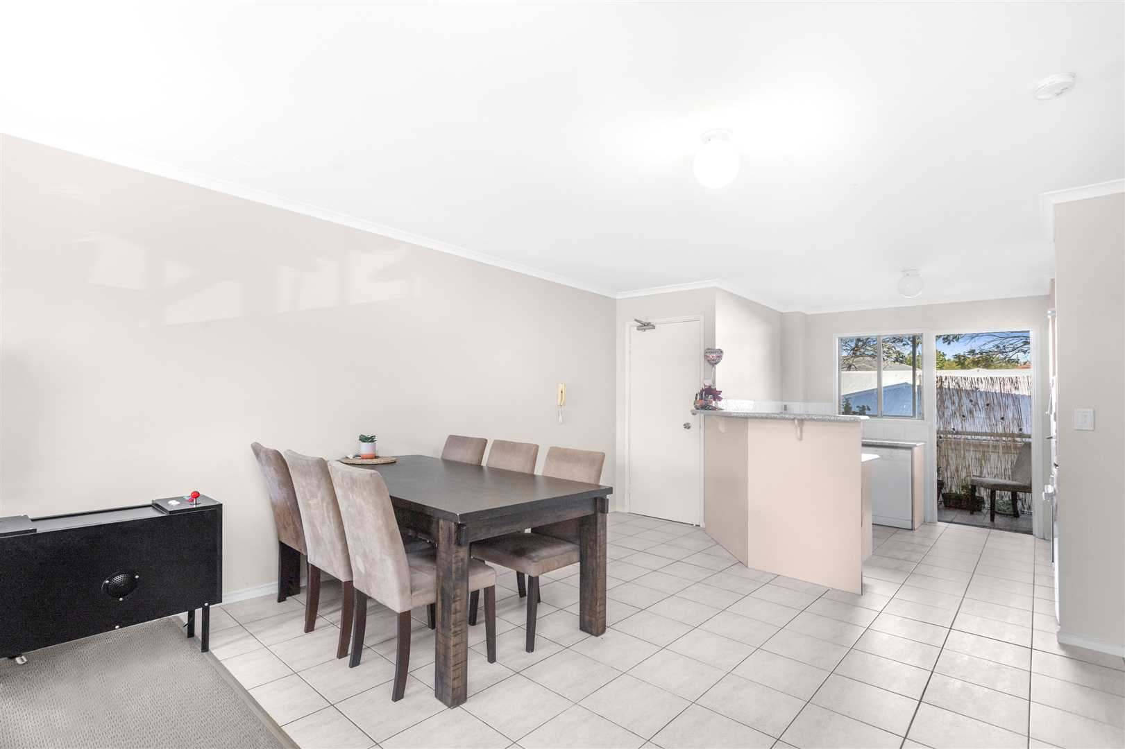Tiled Dining Area
