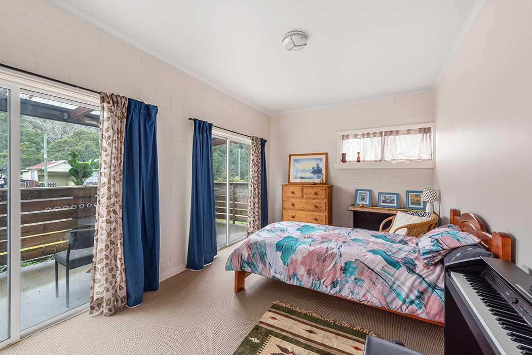 Bedroom Two With Sliding Doors To Deck