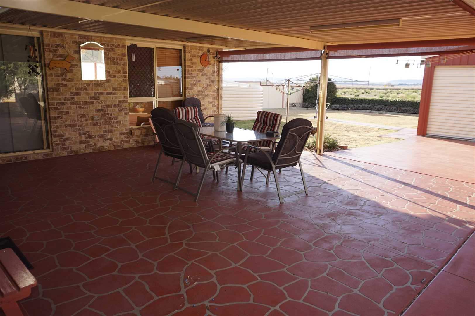Patio- Entertainment Area