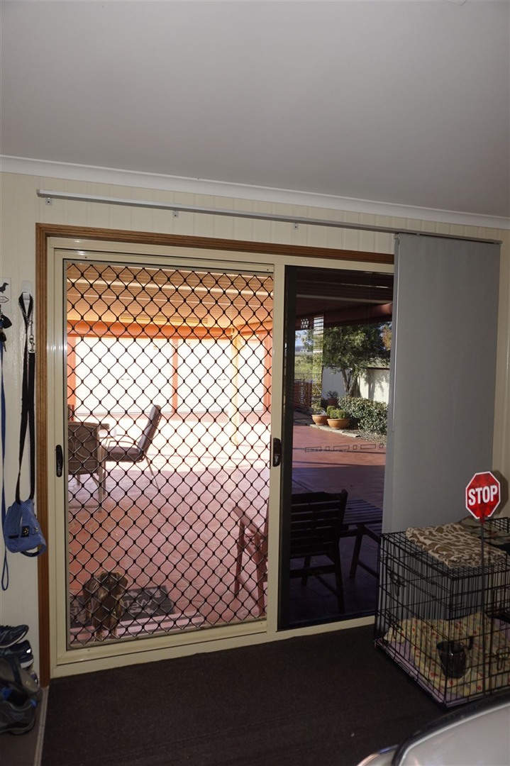 Sliding Door from single remote garage.
