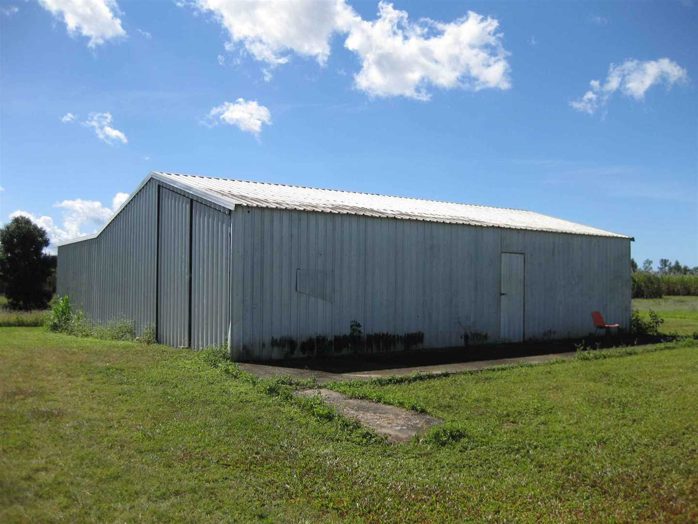 View of part of large lockable shed