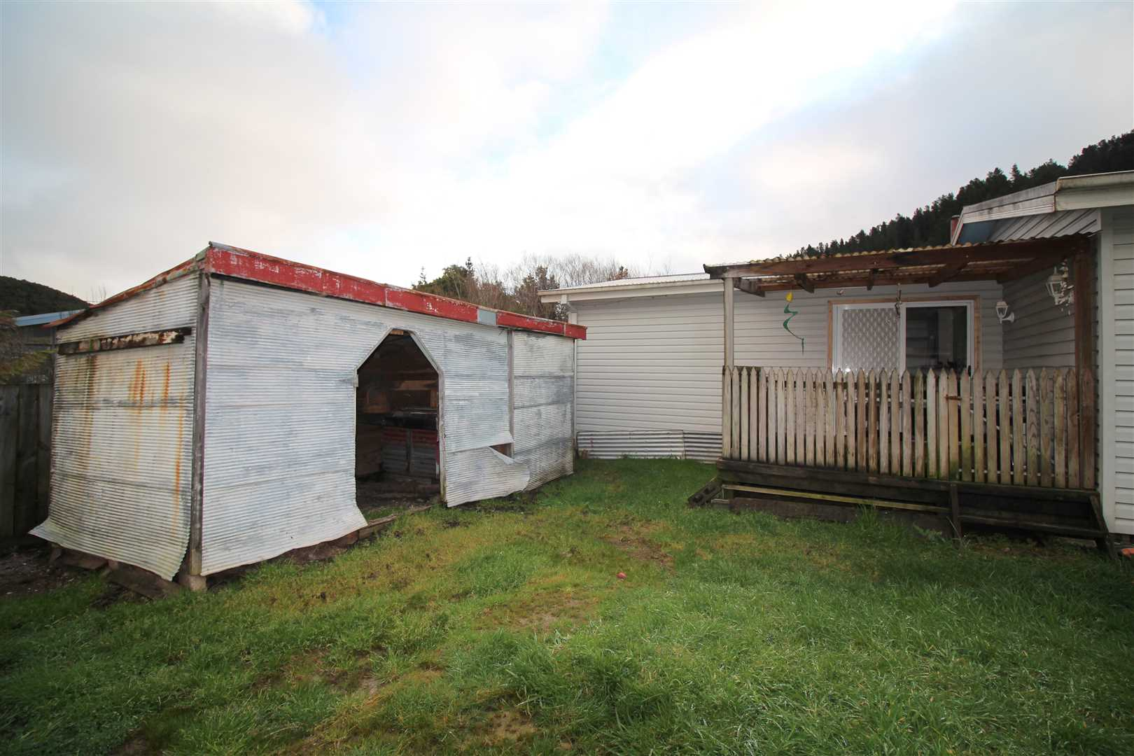Shed & Deck