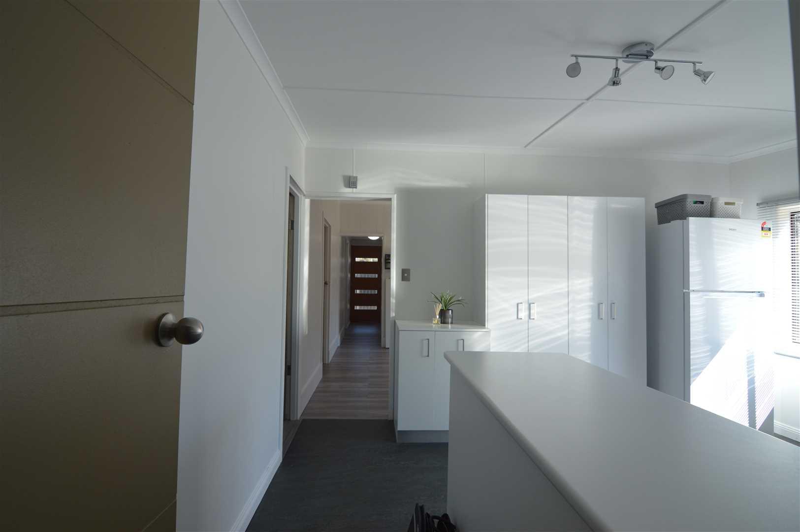 Hallway looking to the front door