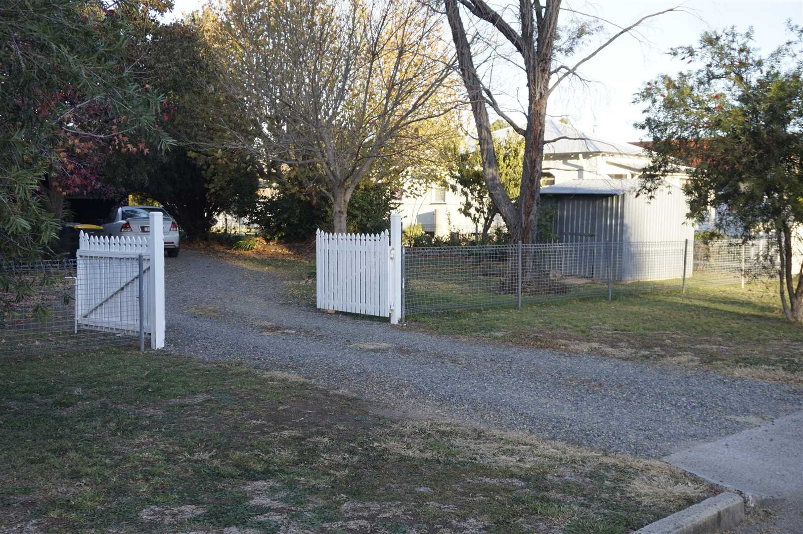 Garden Shed and back Gates