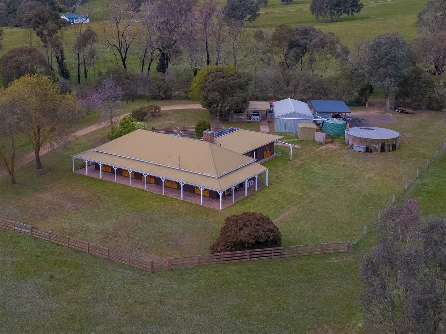 Homestead from above!