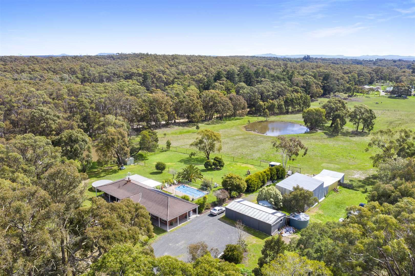 Large Family Home on Delightful 10 Acres (approx.)