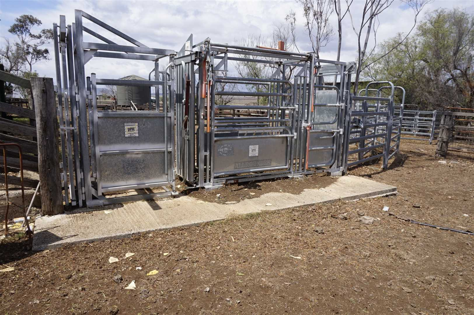 Crush, Ramp, Yards and Troughs