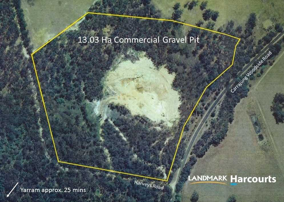 Own your own natural resource with this Gravel Pit