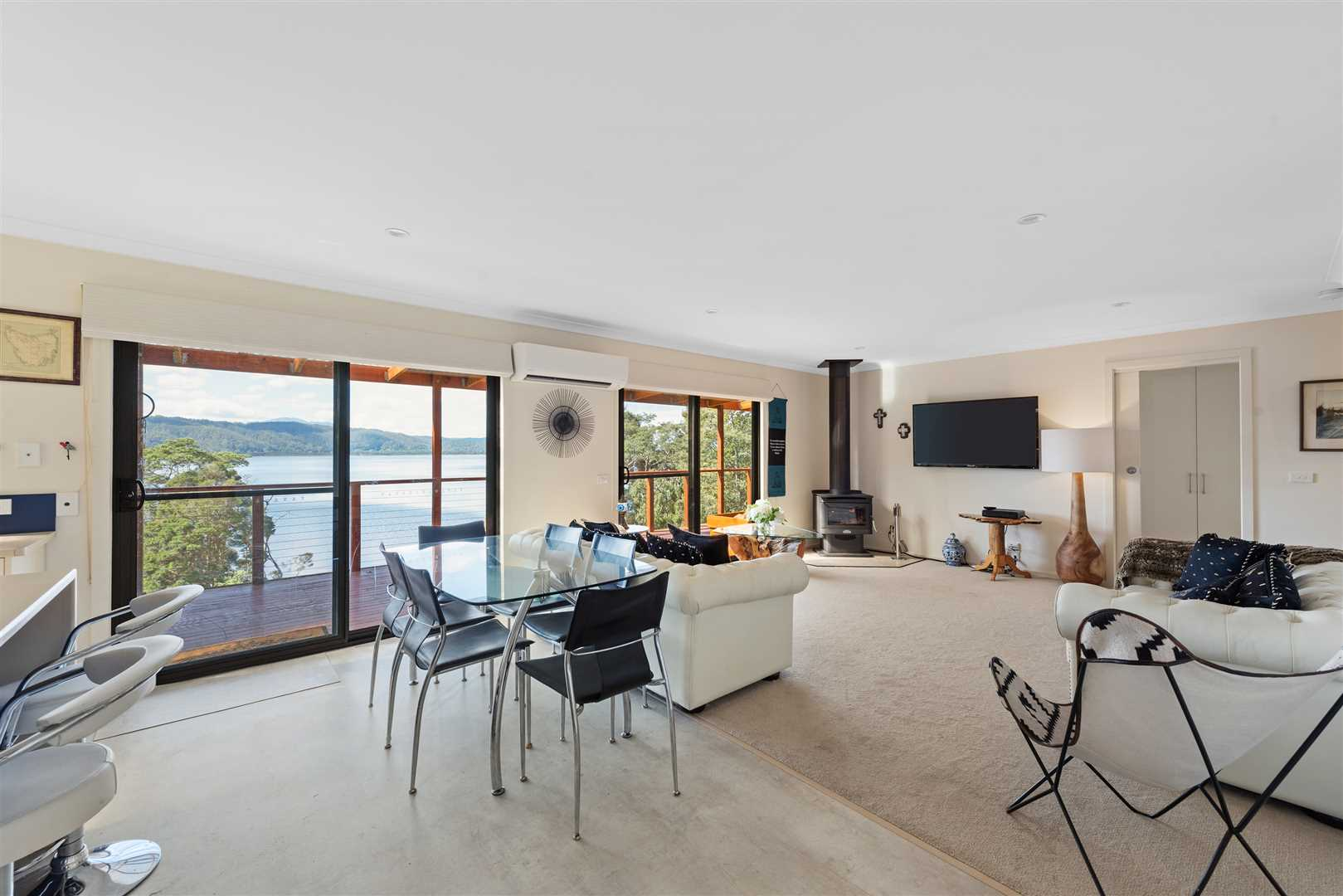 Open Plan Dining/Living Area