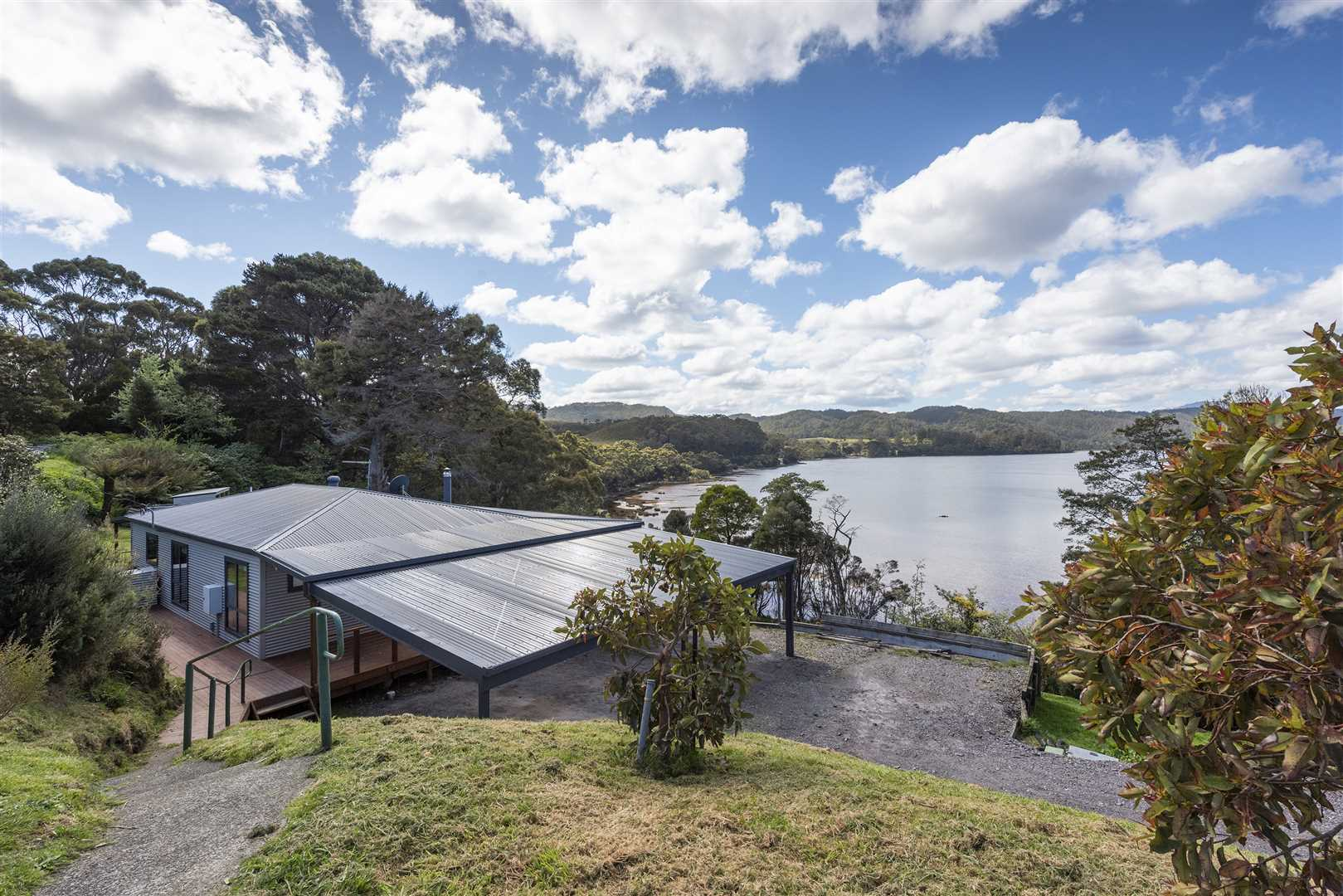 House & View To Bay