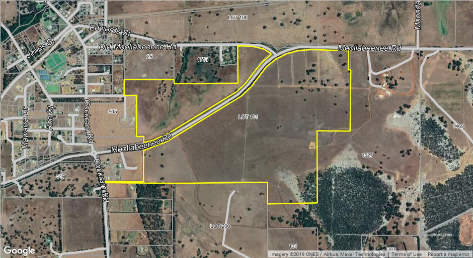 """Gingin Valley View Estate"" 378 Acres in bordering townsite"