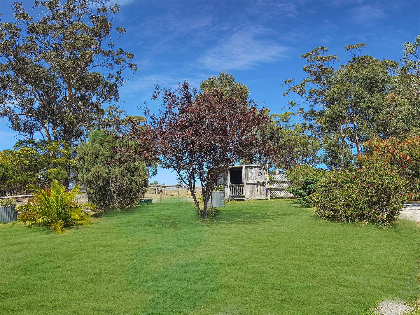Well maintained gardens and lawns
