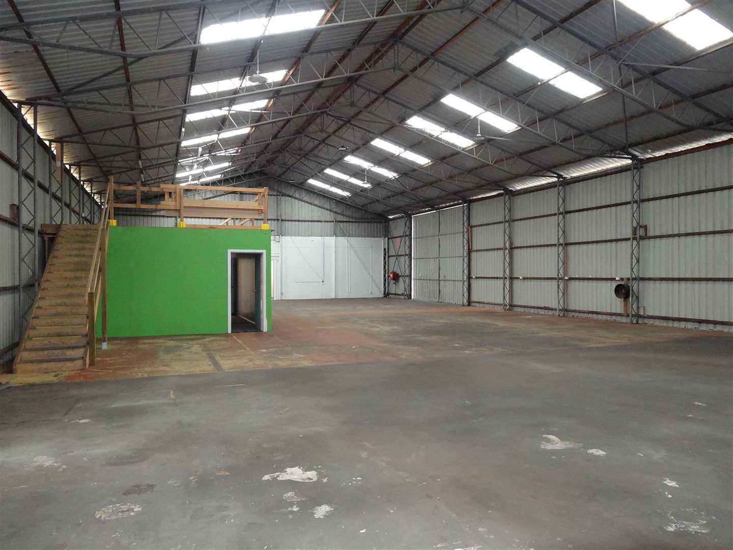 Large warehouse + office facility