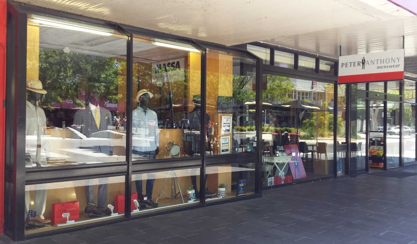 Iconic men's fashion store